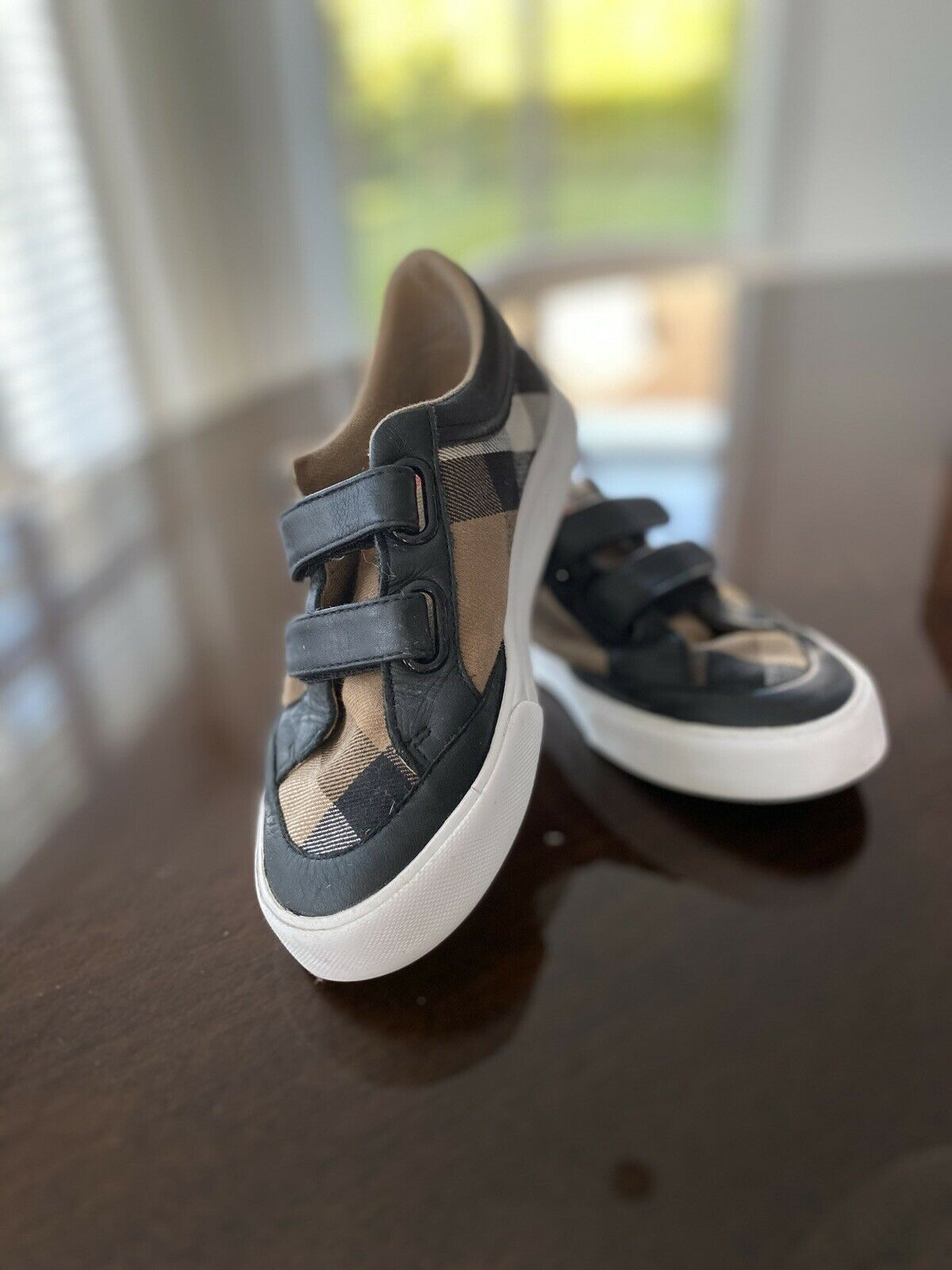 Orig. Burberry Kinder Sport Turn Sneakers Schuhe Shoes Nova Check Gr. 30 Schwar - 65.00,Kaufpreis 65,datum 24.08.2020 17:49:49,Website dhd24.com